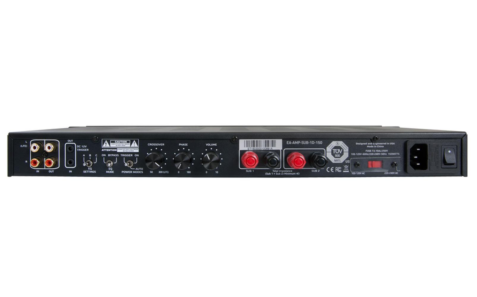 Beverly Hills subwoofer amplifier - 150w with 12v trigger item#: ea-amp-sub-1d-150 - digital ...
