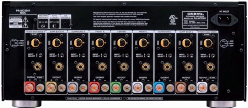 Gilford onkyo pa-mc5501 thx ultra2 9-channel power amplifier - whole ...